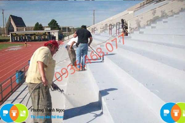 vệ sinh bề mặt trước khi thi công